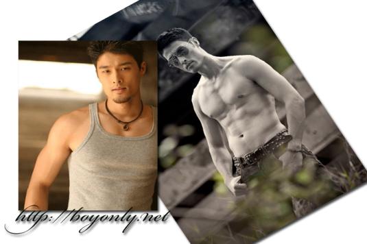 Johnny Tri Nguyen khoe body